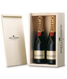 Estuche de champagne Möet Chandon 2 Botellas