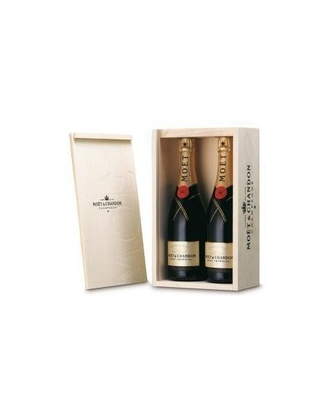 Estuche de champagne Möet Chandon 2 Botellas