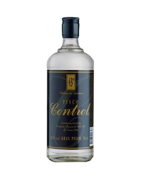 Licor Pisco Control -Chile-