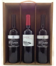 Estuche de vino Martínez Bujanda 3 botellas