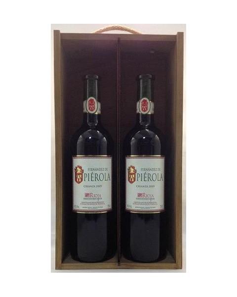 Estuche de vino Piérola Crianza 2 botellas