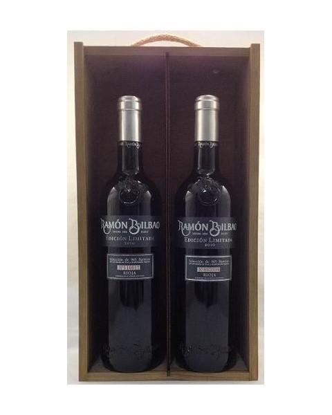 Estuche de vino Ramón Bilbao Edición Limitada 2 botellas