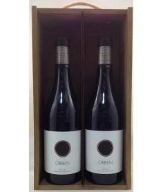 Estuche de vino Orben 2 botellas