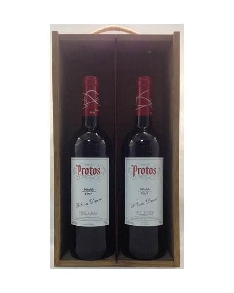 Estuche de vino Protos Roble 2 botellas