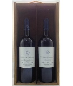 Estuche de vino Pago Capellanes Roble 2 botellas