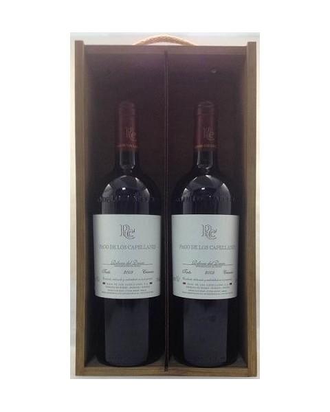 Estuche de vino Pago Capellanes Crianza 2 botellas