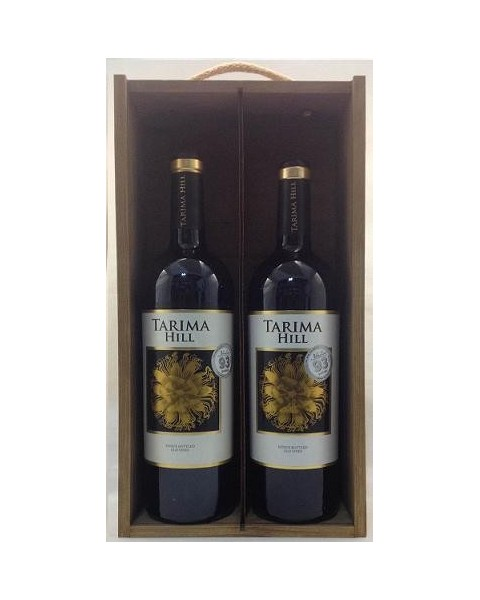 Estuche de vino Tarima Hill 2 botellas
