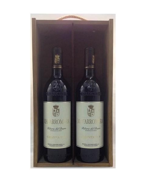 Estuche de vino Matarromera Crianza 2 botellas