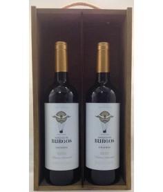 Estuche de vino Marqués de Burgos Crianza 2 botellas