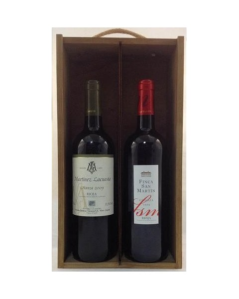 Estuche de vino Rioja 5 2 botellas