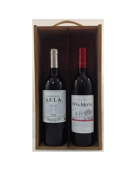Estuche de vino Rioja 6 2 botellas