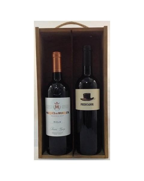 Estuche de vino Rioja 9 2 botellas