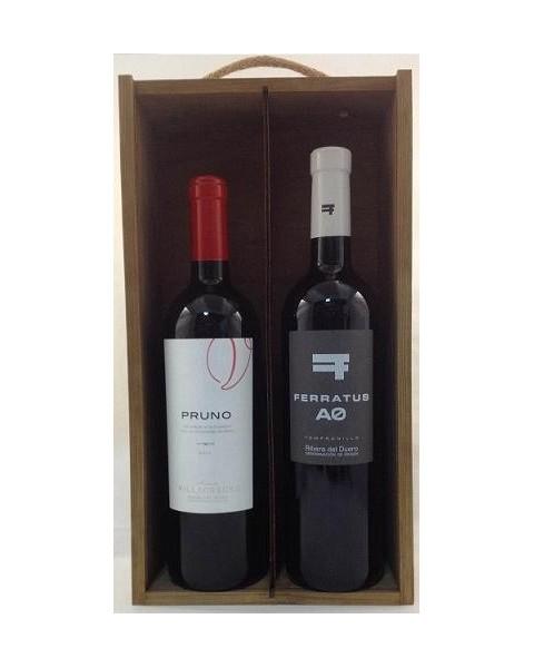 Estuche de vino Ribera del Duero 3 2 botellas