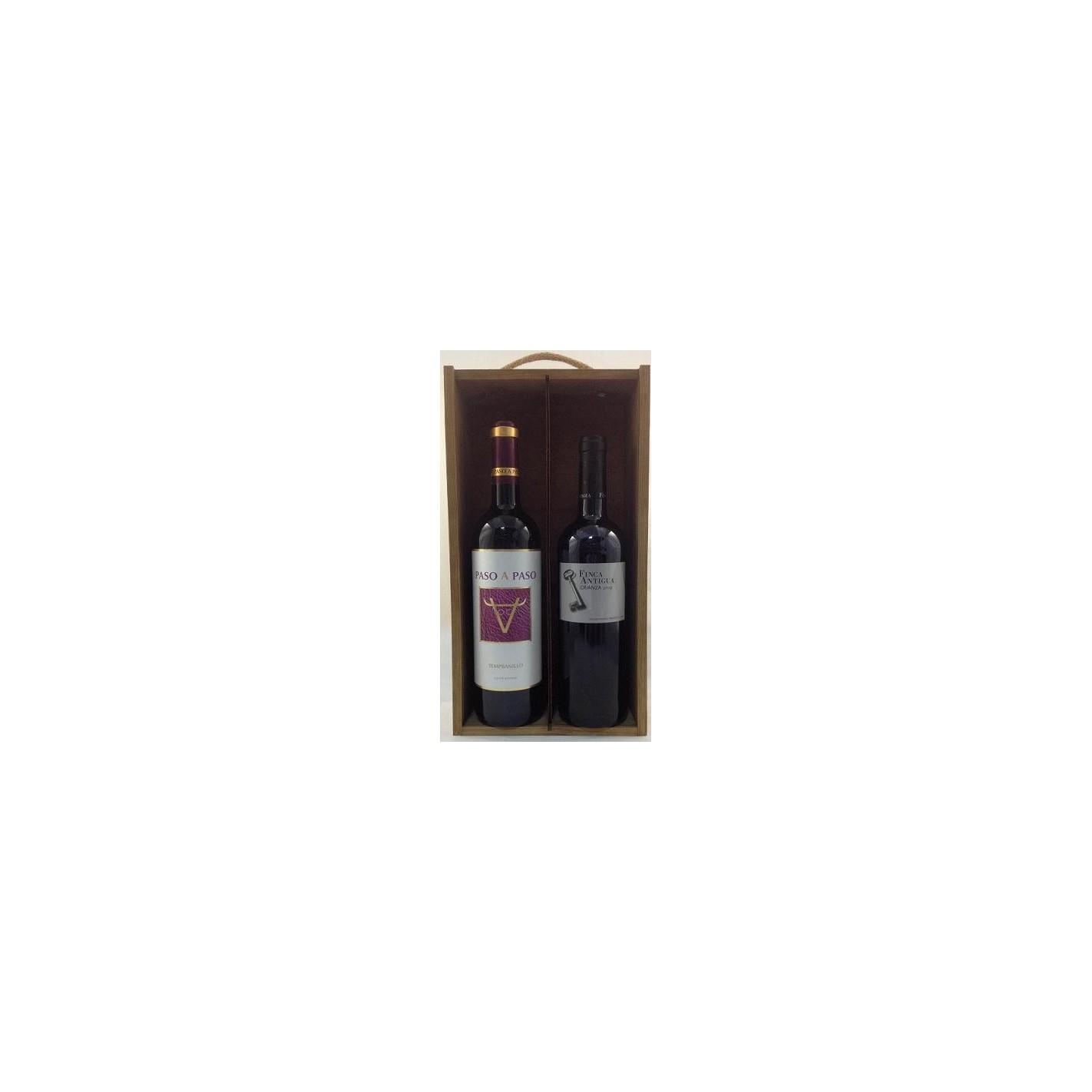 Estuche de vino 2 botellas mancha 3 surtido - Manchas de vino ...