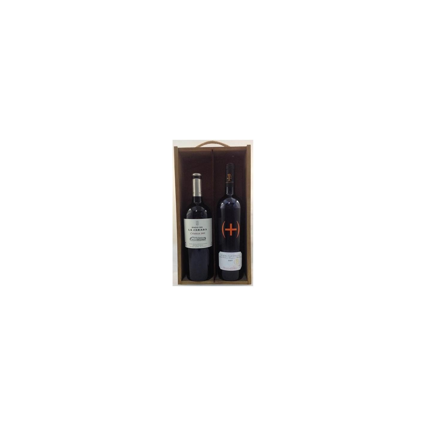 Estuche de vino 2 botellas mancha 4 surtido - Manchas de vino ...