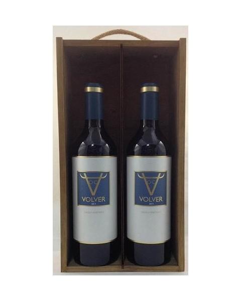 Estuche de vino Volver 2 botellas