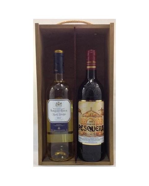 Estuche de vino Surtido 3 2 botellas