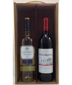 Estuche de vino Surtido 4 2 botellas