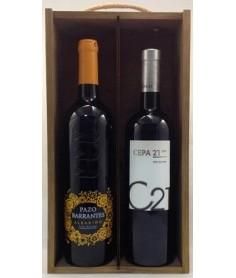 Estuche de vino Surtido 12 2 botellas