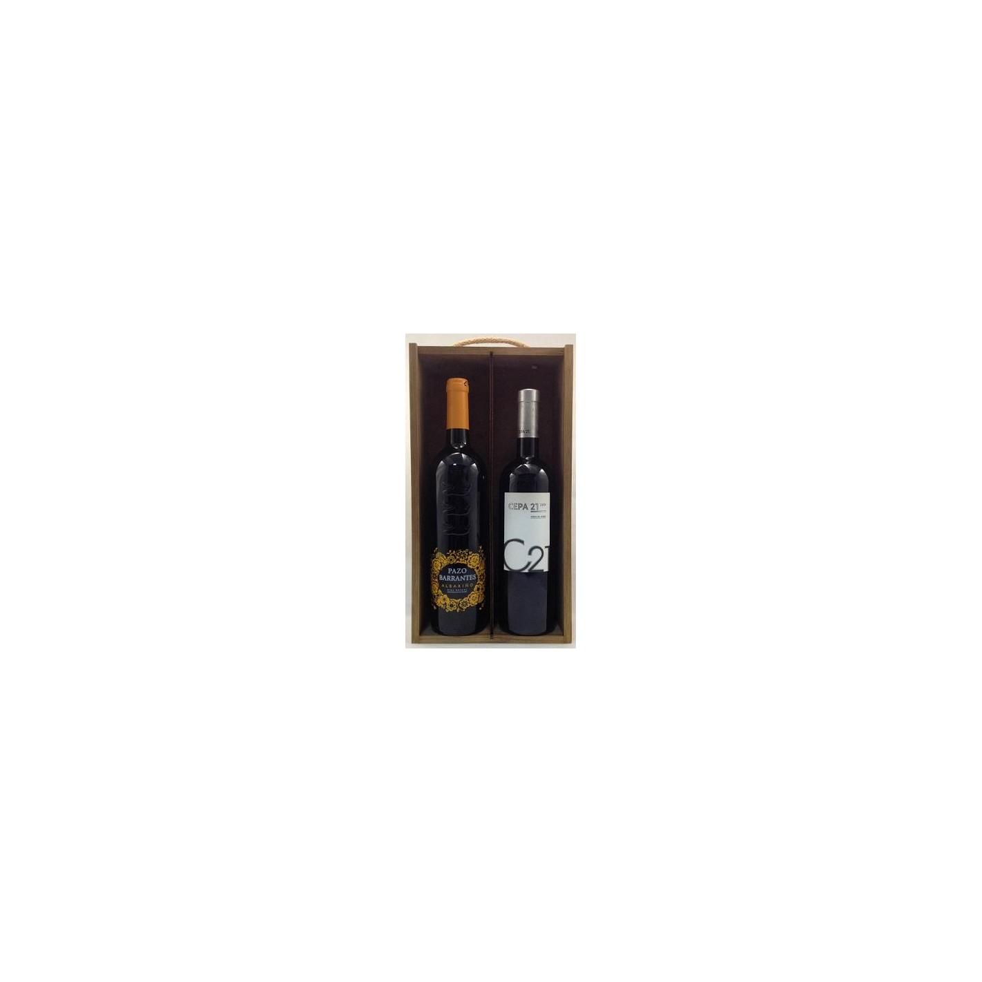 Buy estuche de vino surtido 12 2 botellas wine at best price - Botelleros de vino ...