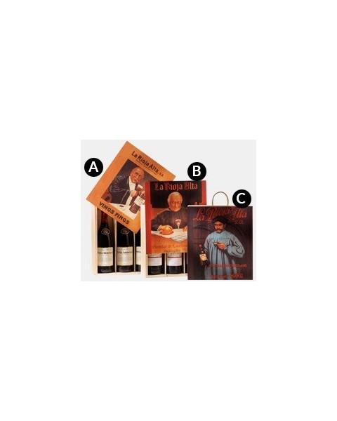 Estuche de vino Gran Reserva 904 3 Botellas