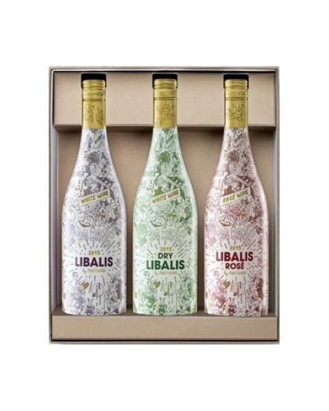 Estuche vino Libalis 3 botellas