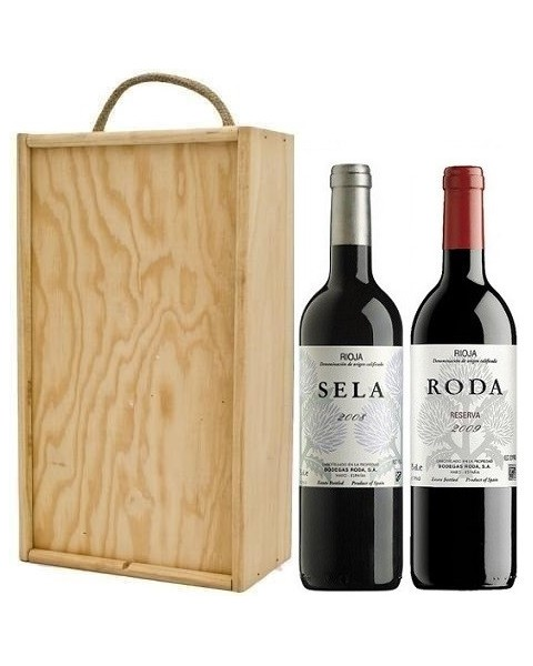 Estuche de vino Sela + Roda