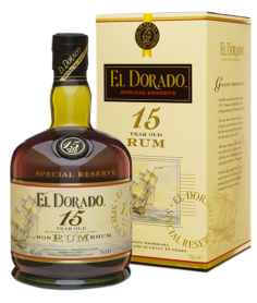 Ron El Dorado 15 Aúos