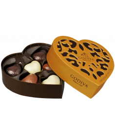 Godiva Bombones Coeur Iconique 6 Piezas