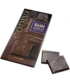 Godiva Tableta de chocolate extra negro 85% Santo Domingo