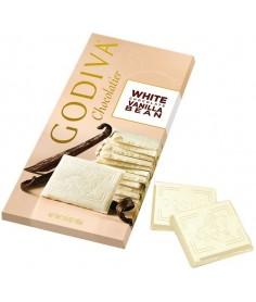Godiva Tableta Chocolate Blanco con Vainilla
