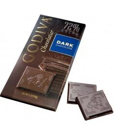 Godiva Tableta Chocolate Negro 72% Cacao