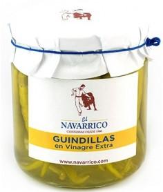 Guindillas en Vinagre Extra El Navarrico 300G