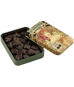 Hojas Finas Chocolate Negro Amatller 60G
