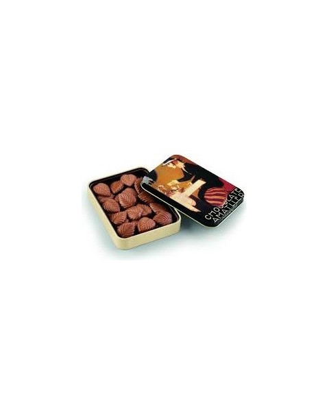 Hojas finas chocolate con leche Amatller 60G