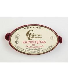 Zamburiñas salsa gallega Cambados