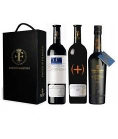 Estuche de vino Summa Varietalis + El Ricón y aceite