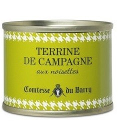 Paté con avellanas Comtesse du Barry