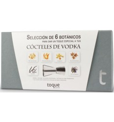 Estuche 6 botánicos Vodka Toque