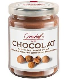 Crema de Chocolate Leche y Avellanas Grashoff