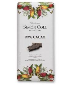 Tableta Chocolate 99% Cacao