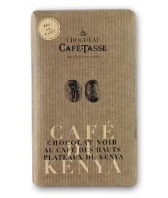 Chocolate Café Tasse Negro Café Kenya