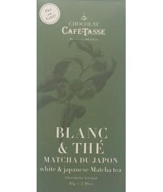 Chocolate Café Tasse Blanco Matcha