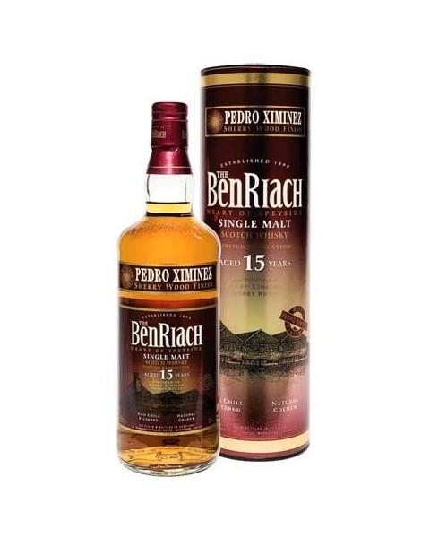 Benriach 15 Años Pedro Ximénez