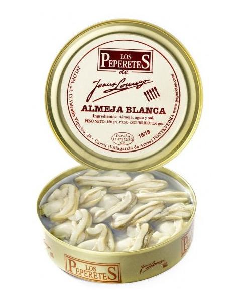 Los Peperetes Almejas 16-18 uds
