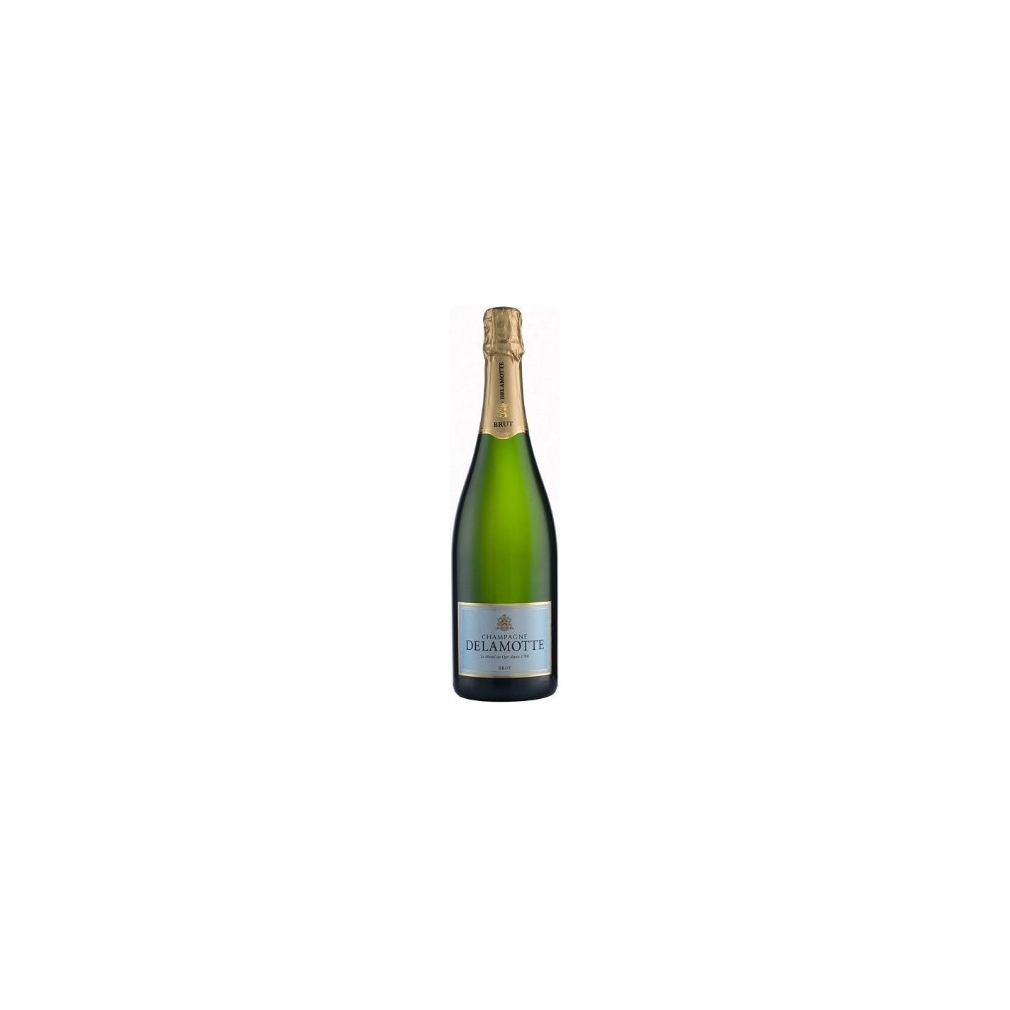 Champagne delamotte brut al mejor precio for Champagne delamotte