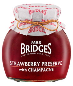 Mermelada Fresas Champagne Mrs Bridges