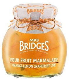 Mermelada cuatro frutas Mrs Bridges