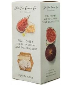Crackers de Aceite de Oliva, Higos y Miel