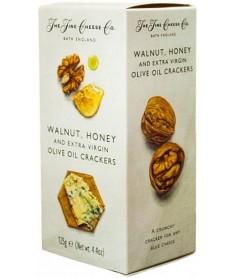 Crackers de Aceite de Oliva, Nueces y Miel